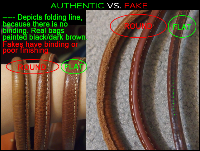 "How To Spot A Fake Longchamp ""Le Pliage"" tote  The Super Guide b04a918bbefb6"