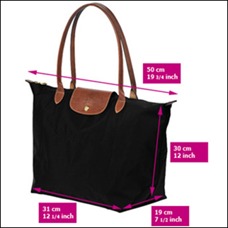 "4f18f3736f37 How To Spot A Fake Longchamp ""Le Pliage"" tote  The Super Guide"