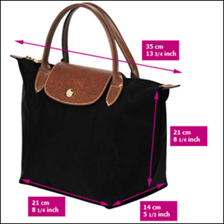 "9758248ea49 How To Spot A Fake Longchamp ""Le Pliage"" tote  The Super Guide"