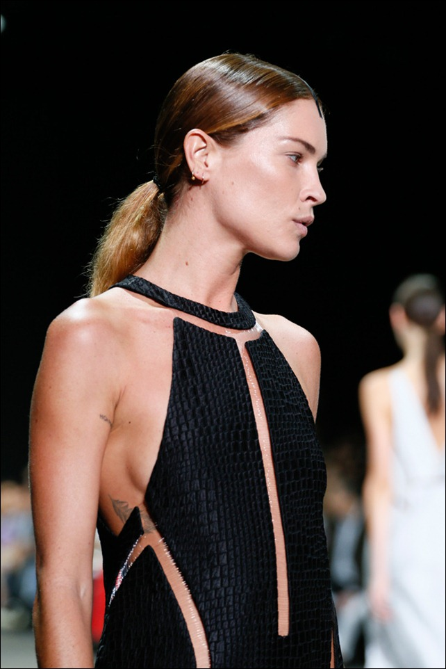 Alexander Wang SS2013 Croc Cutout Dress Side