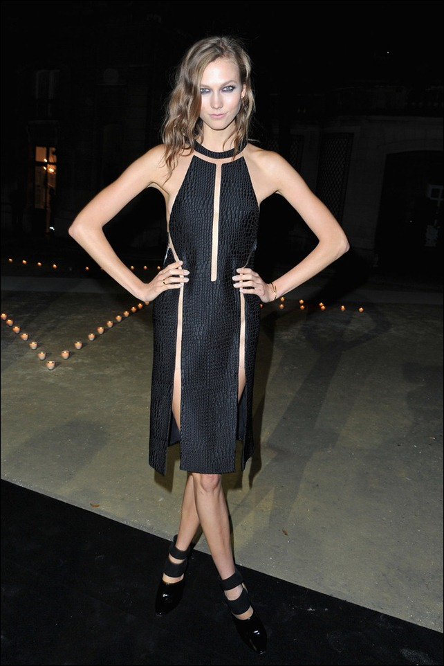 Karlie Kloss Carine Roitfeld Black and White Party in Wang